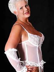 Milfs and matures in lingerie